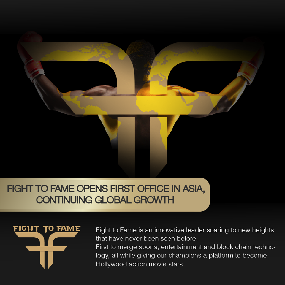 Asian Opening of Fight to Fame - Fight to Fame is Attracting Worldwide Attention