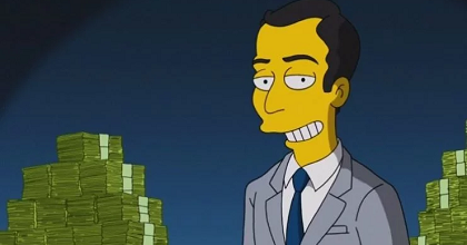 "simpson 351x185 - ""The Simpsons"" Predict that Cryptocurrency and Blockchain will Gain in Popularity"