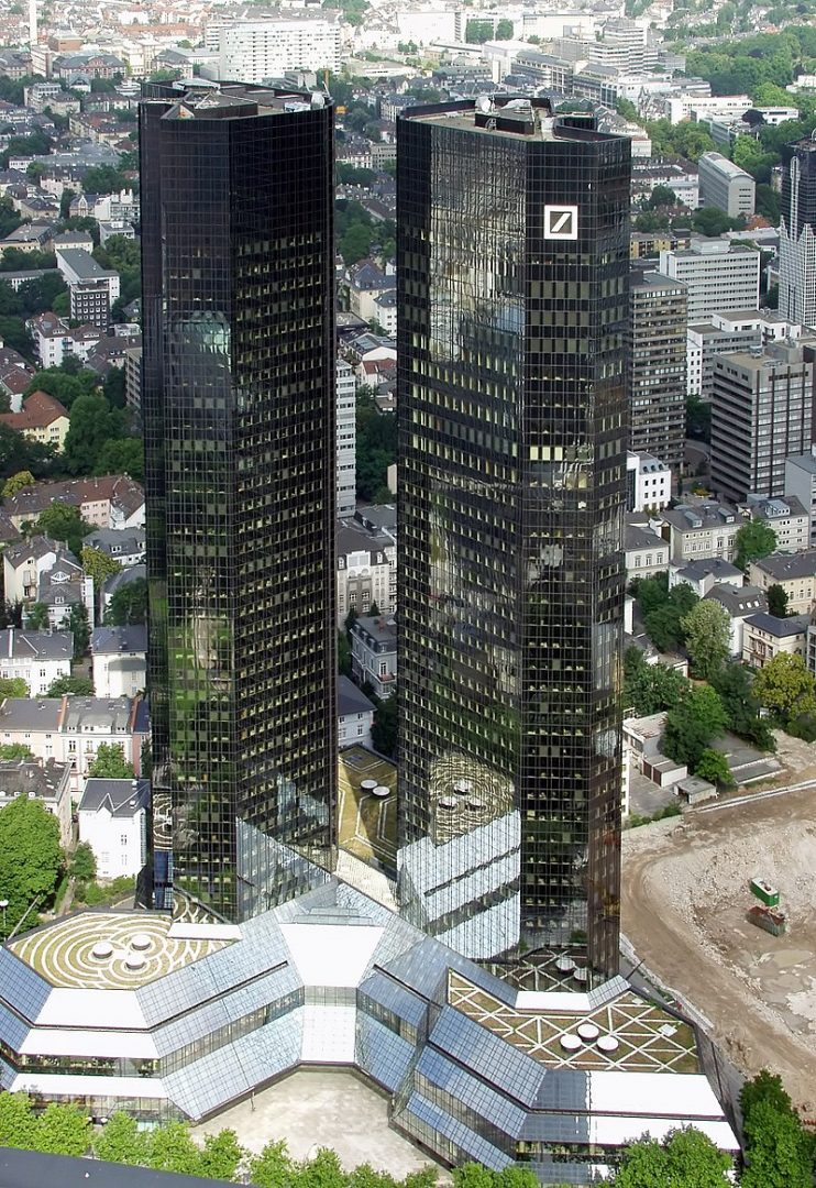 Deutsche Bank Frankfurt - FinCEN Files: The Wonderful World of Colluded Capitalism - Mafias, Oligarchs and the Banking Cartel