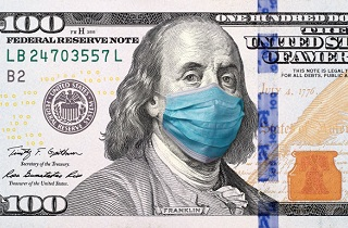dollar crisis 214x140 - Coronavirus Is Shaking the Banks But Not Bitcoin