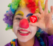 tron clown 110x96 - Crypto-Clown of the Day: Justin Sun and Tron's 10 Billion Users (TRX)