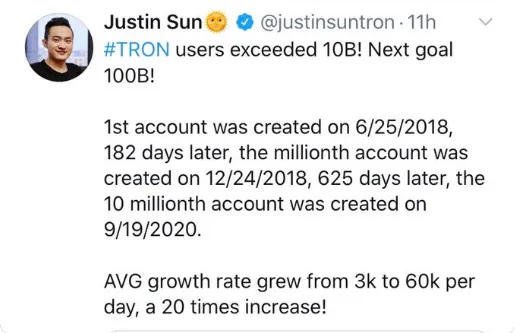 tron - Crypto-Clown of the Day: Justin Sun and Tron's 10 Billion Users (TRX)