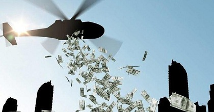 helicopter money 351x185 - ECB wants More Helicopter Money for the Wealthy
