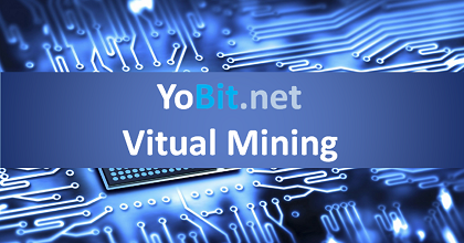 yobit virtual mining 351x185 - How to earn on YoBit.net with virtual mining - Guide and Review